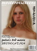 Julia A in Julia's 3rd Movie_Provocation [00'03'52] [MPG] [480x704] video from METART ARCHIVES